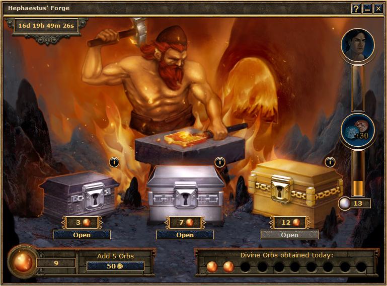 La Forge d'Héphaïstos