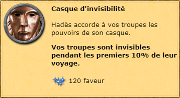 Casque d'invisibilité info