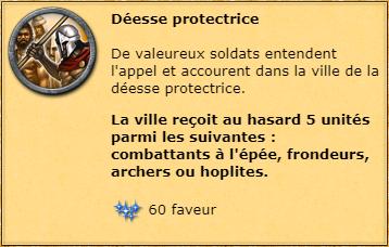Déesse protectrice info