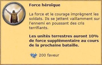 Force héroïque info