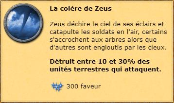 La colère de Zeus info