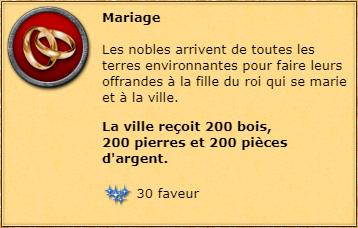 Mariage info